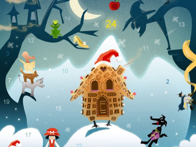 Рождественский календарь- 2012.